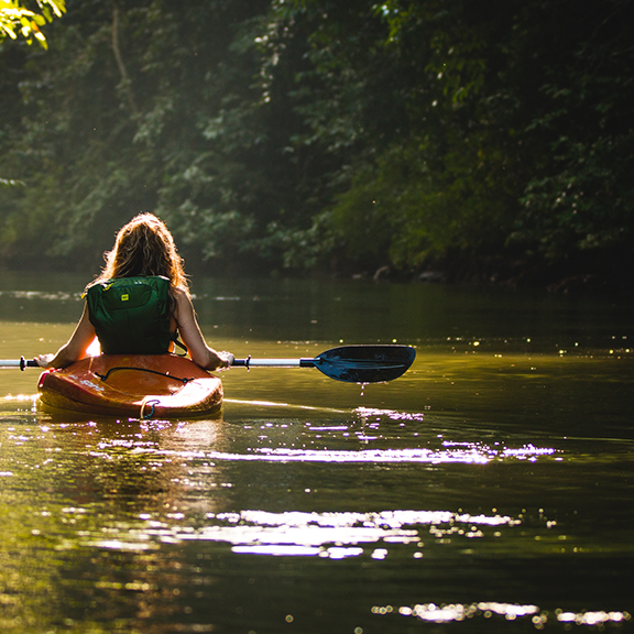 kayak en tortuguero costa rica